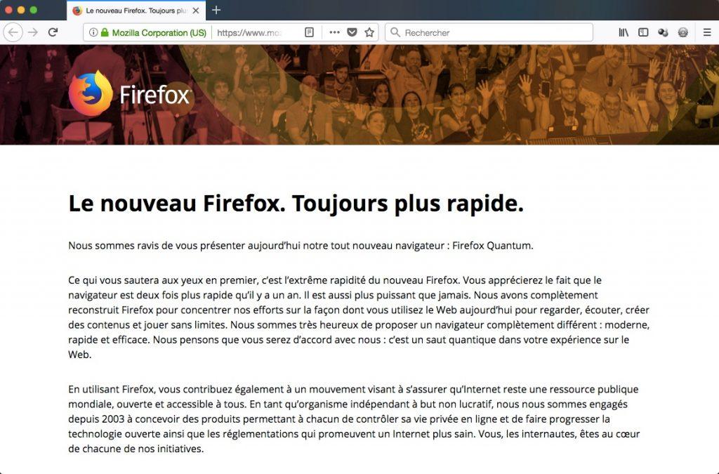 Firefox Quantum v57