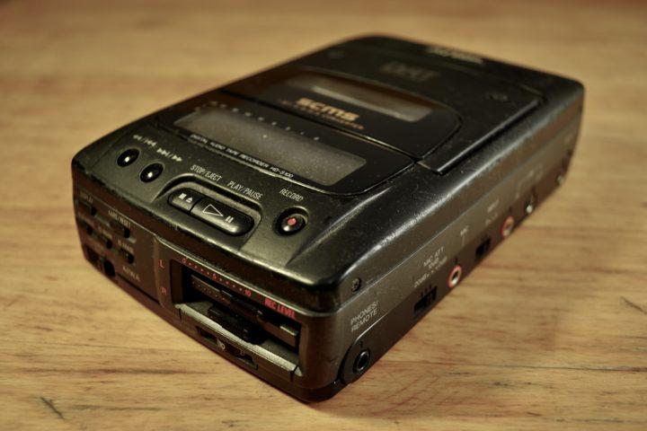 DAR Aïwa HD-S100 vue de 3/4